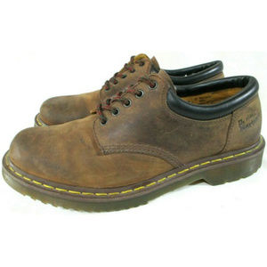 DR MARTENS 8053 Gaucho Crazy Horse Leather Oxfords